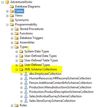 Xml schema collections in sql server sqluninterrupted - Alter table change data type sql server ...